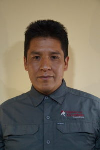 Roger who is the owner of Rainbow Mountain Expeditions